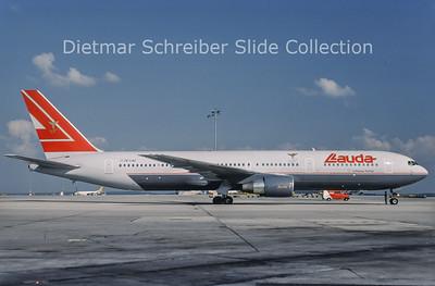 1996-07 OE-LAU Boeing 767-3Z9ER (c/n 23765) Lauda Air