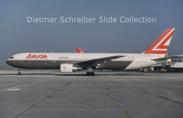 1997-09 OE-LAS Boeing 767-33AER (c/n 27909) Lauda Air