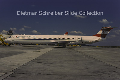 1996-07 OE-LDU MDD MD80 Austrian Airlines