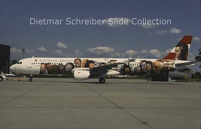 1996-07 OE-LBB Airbus A321 Austrian Airlines