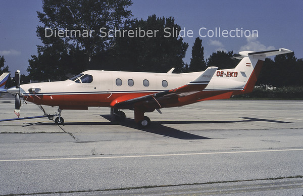 1996-07 OE-EKD Pilatus PC12/45 (c/n 142) Horst Durst
