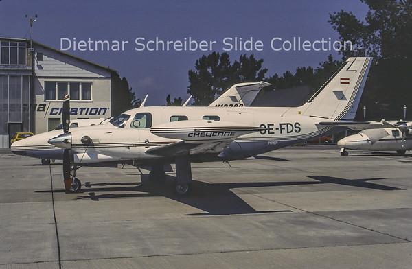 1996-07 OE-FDS Piper 31 Cheyenne Business Flug