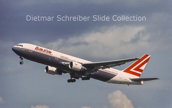 1996-07 OE-LAS Boeing 767-33AER (c/n 27909) Lauda Air
