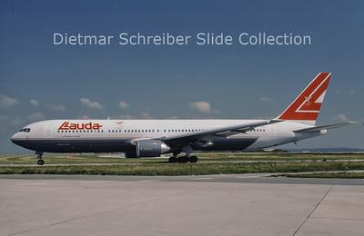 1996-07 OE-LAT Boeing 767-31AER (c/n 25273) Lauda Air Italy