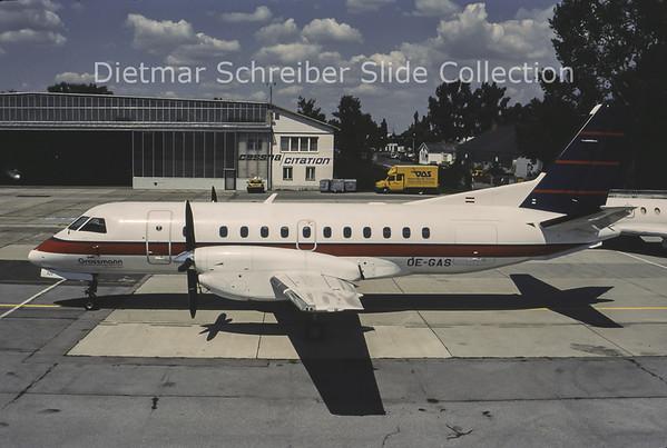 1996-07 OE-GAS Saab 340B (c/n 321) Grossmann Air Service