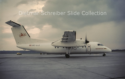 OE-LLI Bombardier Dash 8-103A (c/n 243) Interflug