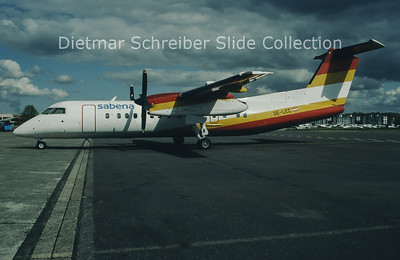 1994-07 OE-LEC Bombardier Dash 8-311 (c/n 313) Sabena