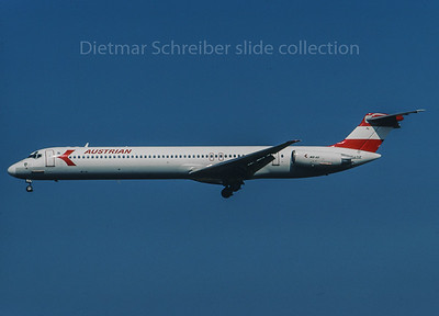 OE-LDZ MD80 Austrian Airlines