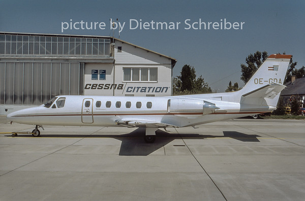 1996-08 OE-GDA Cessna 560 Citation 5 Air Salzburg