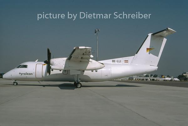 1996-08 OE-LLI Dash DHC8-100 Tyrolean Airways