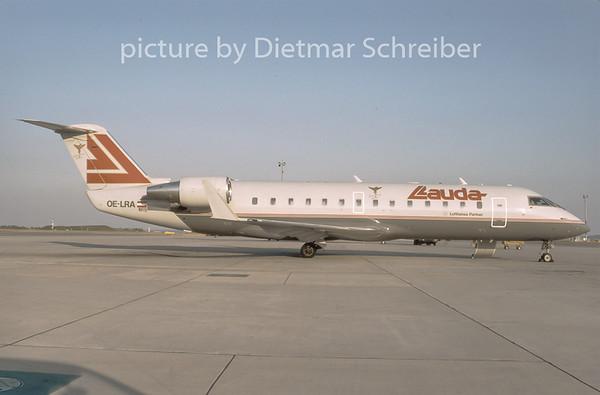 1996-09 OE-LRA Canadair Regionaljet 200 Lauda Air