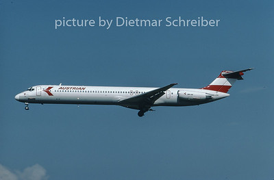 1996-08 OE-LDY MDD MD80 Austrian Airlines