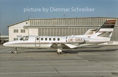 2006-02 OE-GBA Cessna 550 Citation 2 Bannert Air