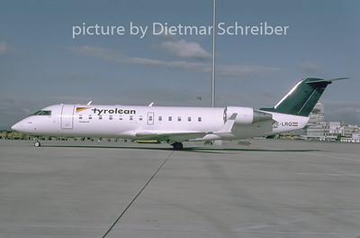 1996-09 OE-LRQ Canadair Regionaljet 200 Tyrolean Airways
