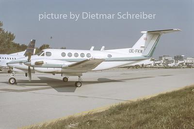 1996-10 OE-FKW Beech 200 King Air