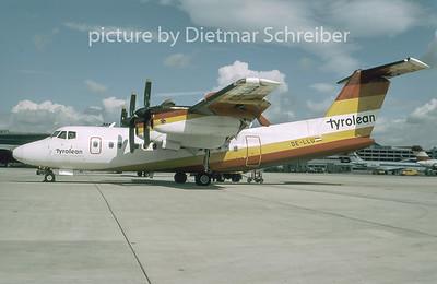 1996-09 OE-LLU Dash DHC7 Tyrolean Airways