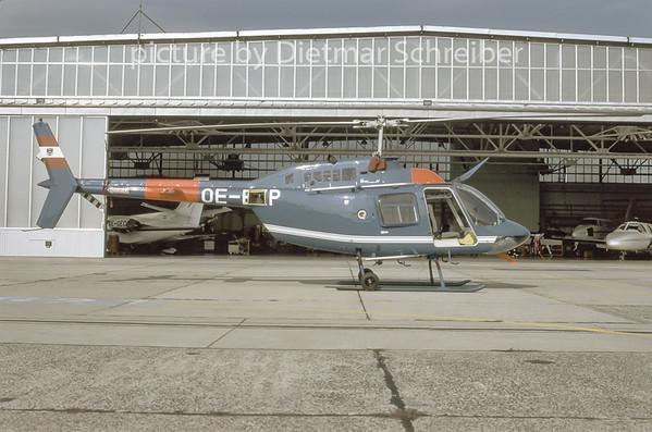 1996-11 OE-BXP Bell 206 Austrian Police