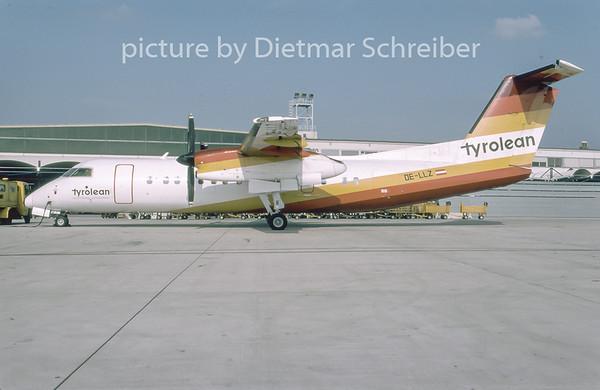 1996-11 OE-LLZ Dash DHC8-300 Tyrolean Airways