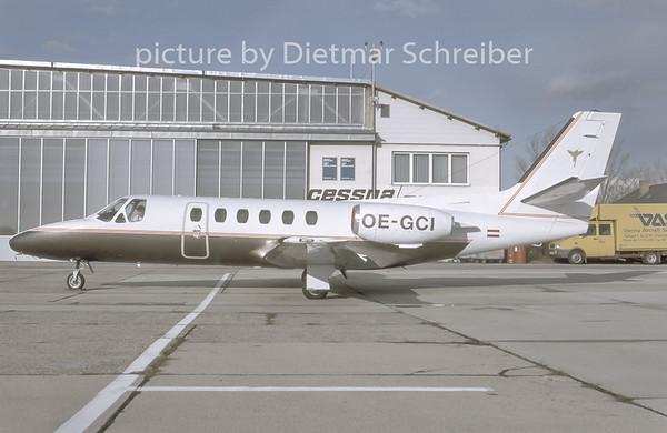 1996-11 OE-GCI Cessna 550 Citation 2 Lauda Air