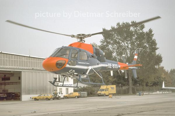 1996-11 OE-BXG Eurocopter AS350 Austrian Police