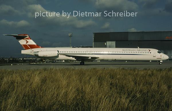 1996-12 OE-LMD MDD MD80 Austrian Airlines