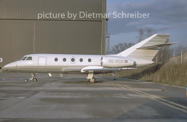 1996-12 OE-GCR Dassault Falcon 20 Lauda Air
