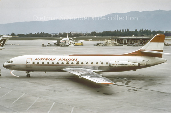 OE-LCA Caravelle Austrian Airlines