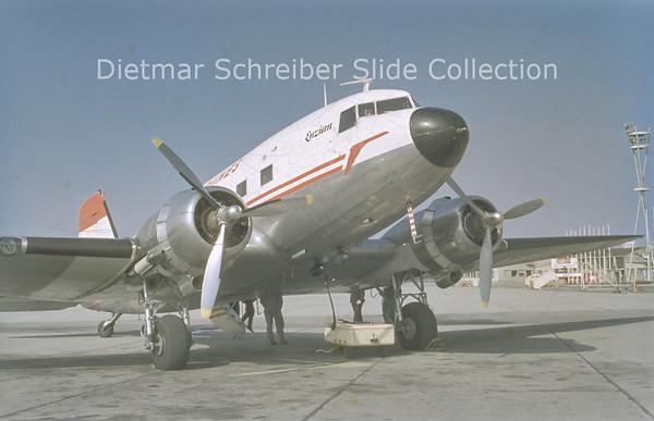 OE-LBN Douglas DC-3D (c/n 42963) Austrian Airlines