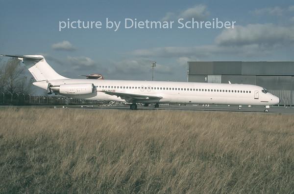 1996-12 OE-LDU MDD MD80 Austrian Airlines