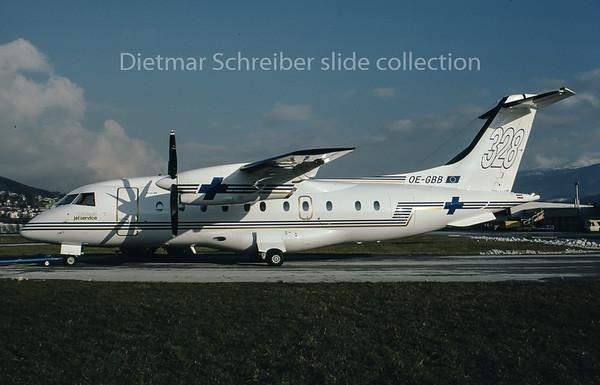 1996-11-27 OE-GBB Dornier 328 Tyrolean Jet Service