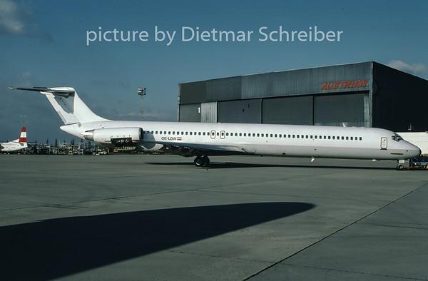 1996-12 OE-LDW MDD MD80 Austrian Airlines
