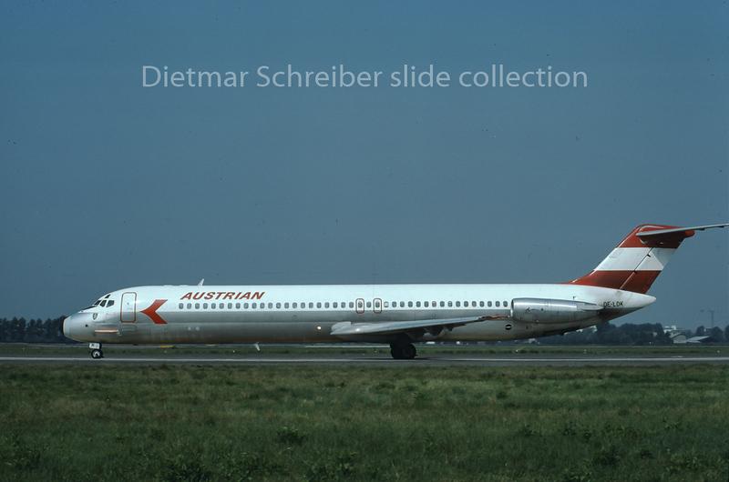OE-LDK Douglas DC9-50 Austrian Airlines