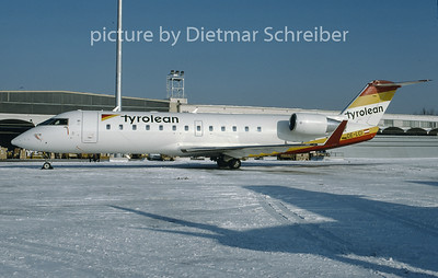 1997-01 OE-LCI Canadair Regionaljet 200 Tyrolean Airways