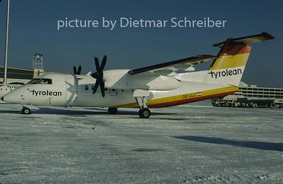 1997-01 OE-LLJ Dash DHC8-100 Tyrolean Airways