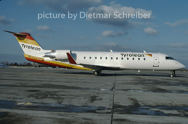 1997-02 OE-LCJ Canadair Regionaljet 200 Tyrolean Airways