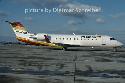 1997-02 OE-LCJ Canadair Regionaljet 200 Tyrolean Airways