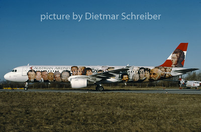 1997-01 OE-LBB Airbus A321 Austrian Airlines
