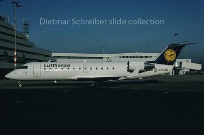 1996-12 OE-LRQ Canadair Regionaljet 200 Lufthansa Cityline