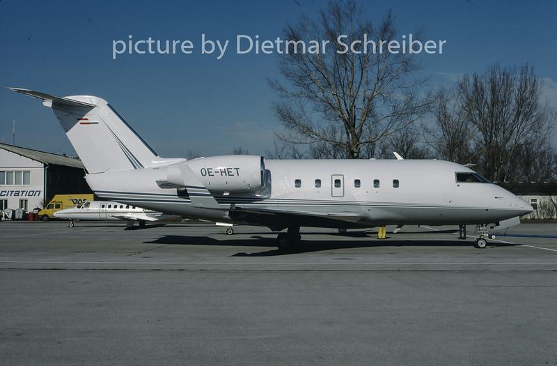 1997-02 OE-HET Bombardier CL600 Challenger Grossmann Air Service