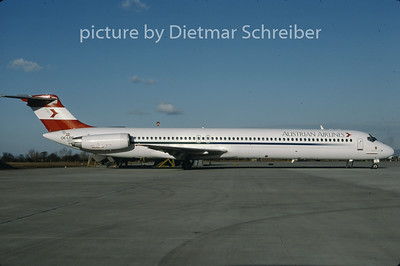 1997-02 OE-LDS MDD MD80 Austrian Airlines
