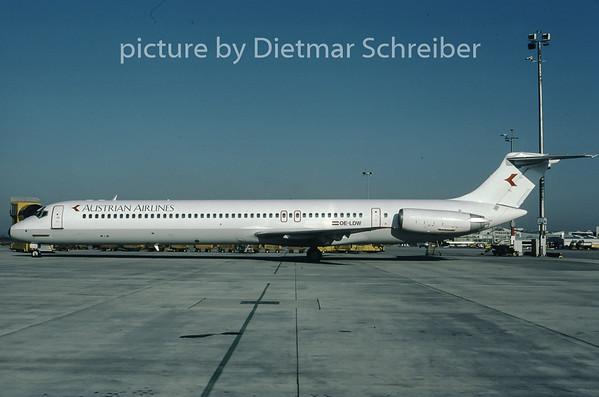 1997-04 OE-LDW MDD MD80 Austrian Airlines