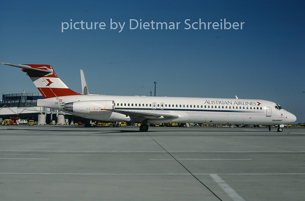 1997-06 OE-LML MDD MD87 Austrian Airlines