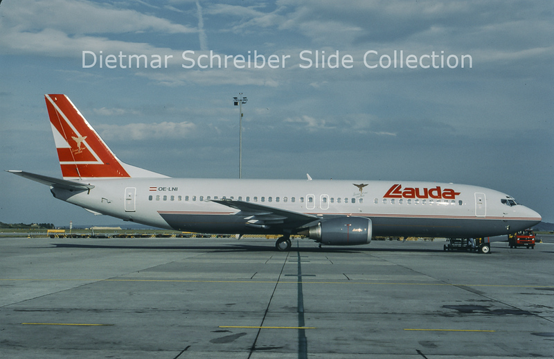 1997-06 OE-LNI Boeing 737-4Z9 (c/n 27094) Lauda Air