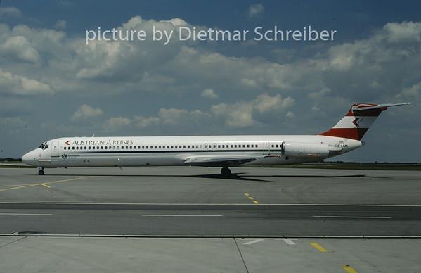 1997-06 OE-LMA MDD MD80 Austrian Airlines
