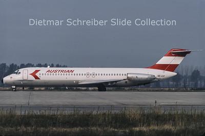 1985-09 OE-LDF Douglas DC9-32 (c/n 47458) Austrian Airlines