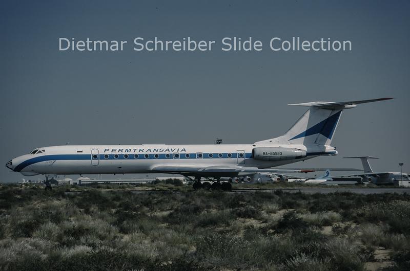 1997-04 RA-65983 Tupolev 134 Permtransavia