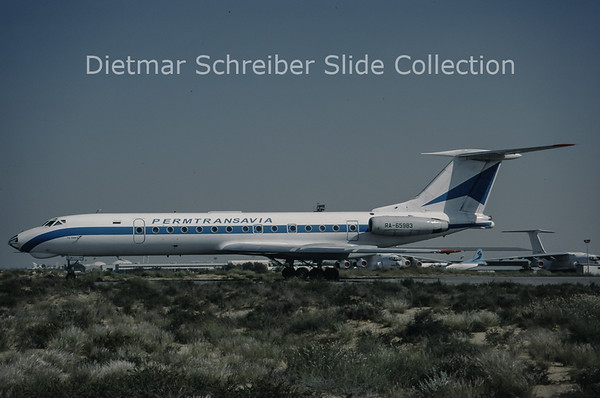 1997-04 RA-65983 Tupolev 134A (c/n 63350) Permtransavia