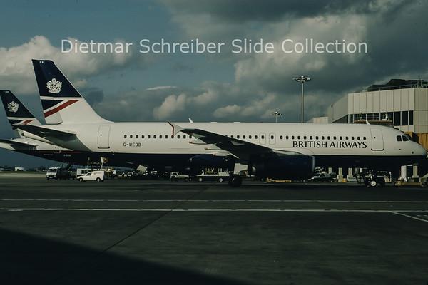 1997-05 G-MEDB Airbus A320 British Airways