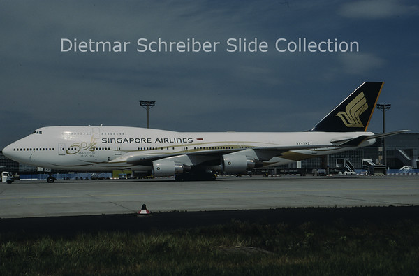 1997-05 9V-SMZ Boeing 747-400 Singapore Airlines