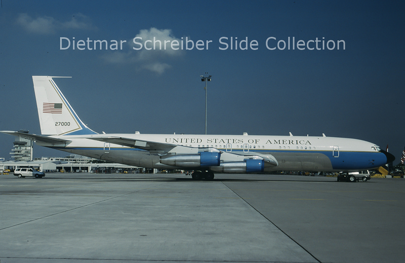 1997-07 27000 Boeing 707 United States - Air Force